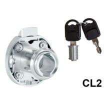 735-CL2 Rugósnyelvű fiókzár jobbos 34,5mm