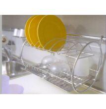 LA9831 Pohár és tányércsepegtető 400x270x280mm króm