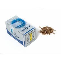 Forest Reisser facsavar 2,5x20mm Sárgított acél tövigmenetes 1000db/doboz 10007110015