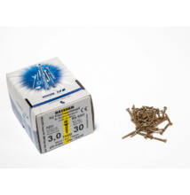 Forest Reisser facsavar 3x30mm Sárgított acél tövigmenetes 1000db/doboz 10007110130
