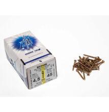 Forest Reisser facsavar 4,5x45mm Sárgított acél tövigmenetes 500db/doboz 10007110430