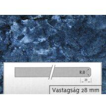 Forest WZ8 GL Kék Onyx munkalap 4200x600x28mm 10012501640