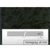 1027 GL Nero Africa munkalap 4200x600x28mm