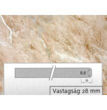 Forest 4854 GL Barna márvány munkalap 4200x600x28mm 10012505070