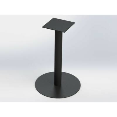Forest FM01 Kör talpas Bisztró asztalláb 720mm RAL9005 fekete 10001521501