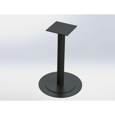 Forest FM01 Kör dupla talpas Bisztró asztalláb 725mm RAL9005 fekete 10001521511