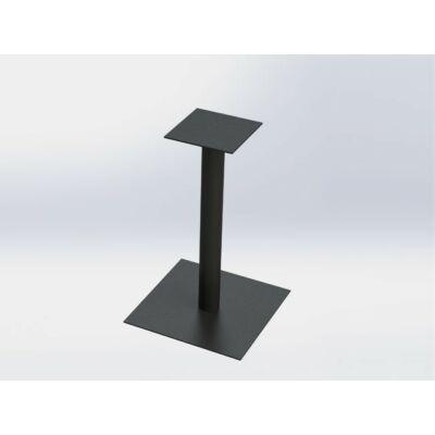 Forest FM03 Négyzet talpas Bisztró asztalláb 720mm RAL9005 fekete 10001521521