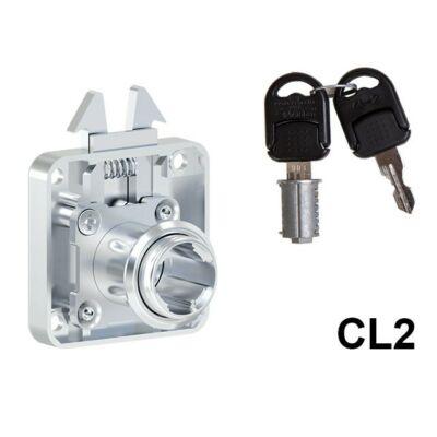 Forest 705-CL2 Redőnyzár+zárlemez jobbos 42x42mm 10003230500