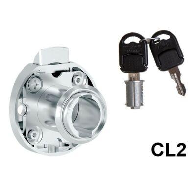Forest 735-CL2 Rugósnyelvű fiókzár jobbos 34,5mm 10003230600