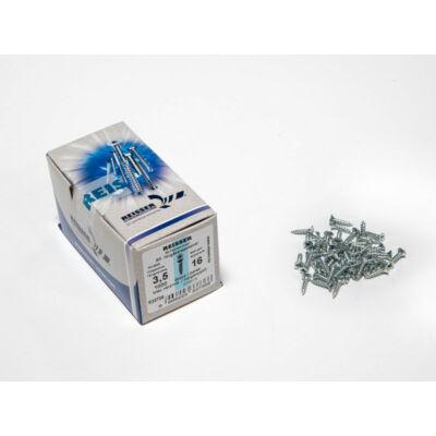 Forest Reisser facsavar 3,5x16mm Horgantyzott acél tövigmenetes 1000db/doboz 10007112105