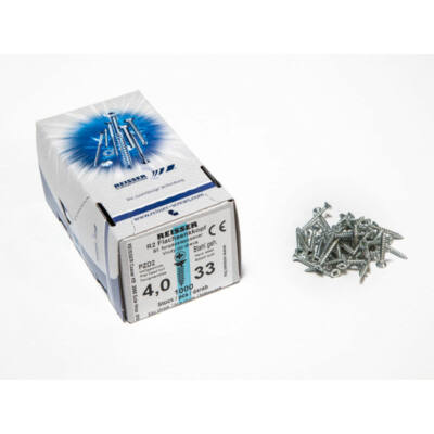 Forest Reisser facsavar 4x33mm Horgantyzott acél tövigmenetes 1000db/doboz 10007112225