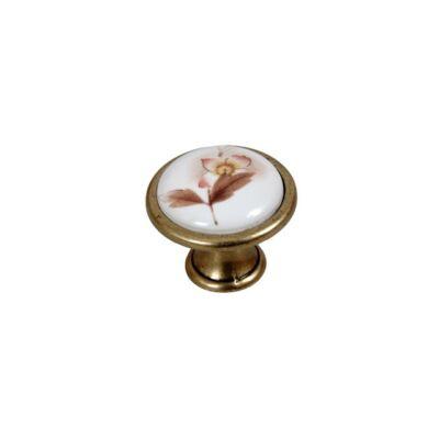 Forest E053-33 Antik bronz-Barna virág 10007652060