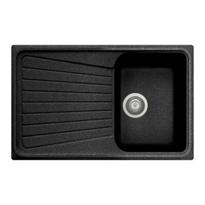 Forest Grawa PT3-7910N 1 medence + csepptálca fekete 10012150120